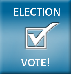 election vote button